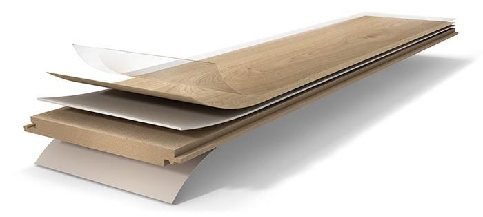 Parador Designboden Eco Balance Pur Aufbau